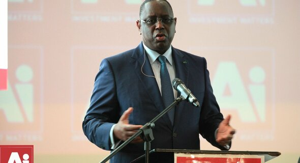 The President of Senegal, HE Macky Sall