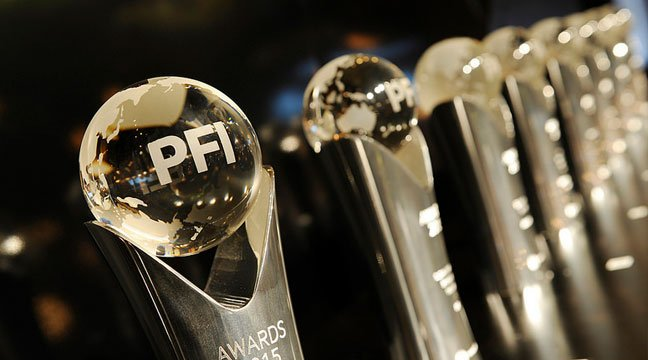 PFI award close up