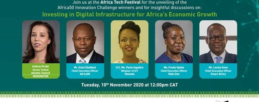 Africa50 Organizes Webinar at the Africa Tech Festival to Unveil the Winners of the Innovation Challenge