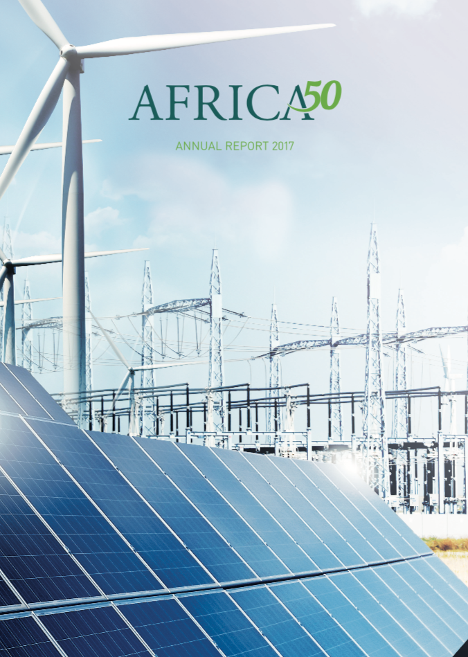 Africa50 Annual report Cover