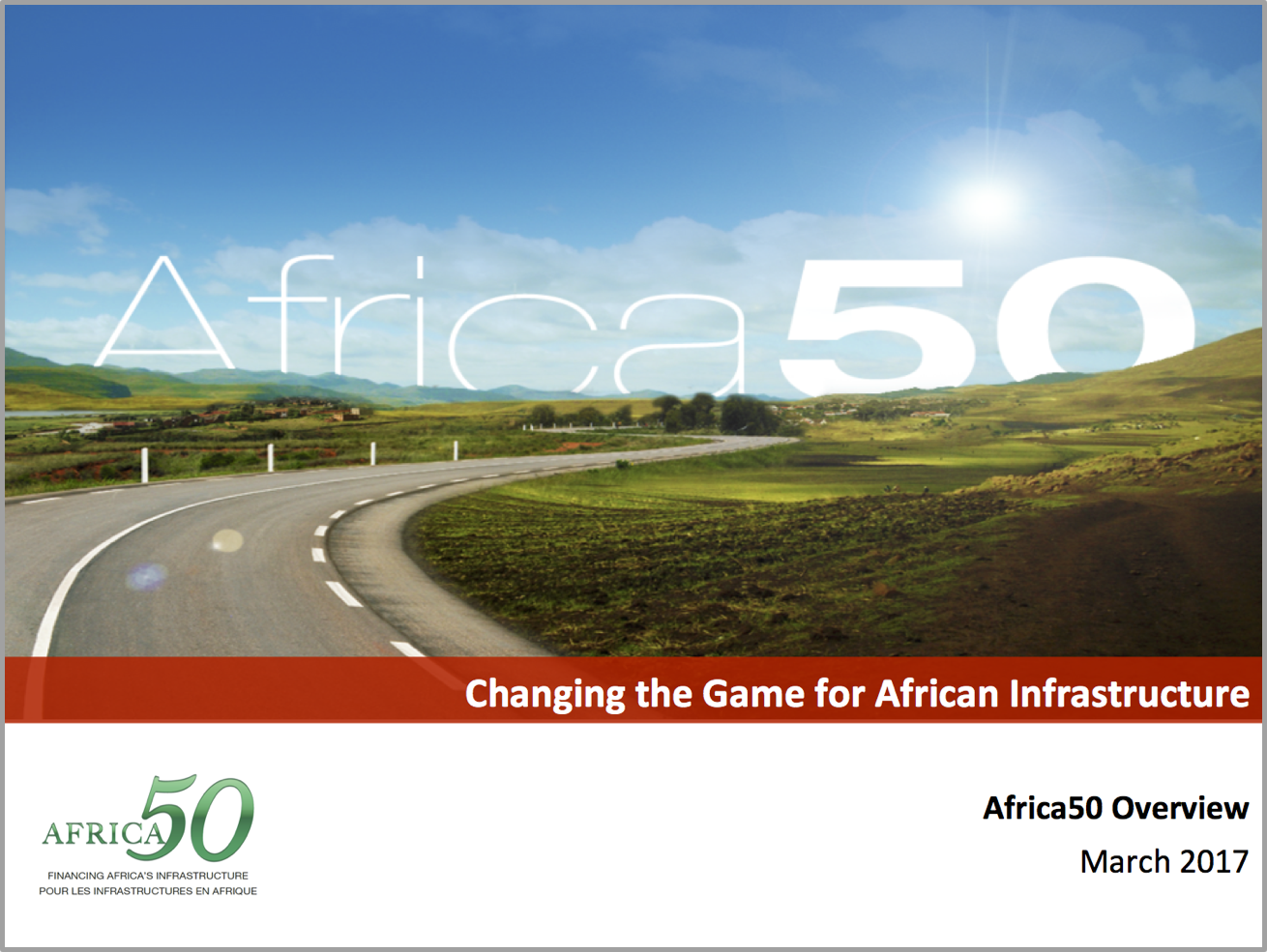Africa50 Overview