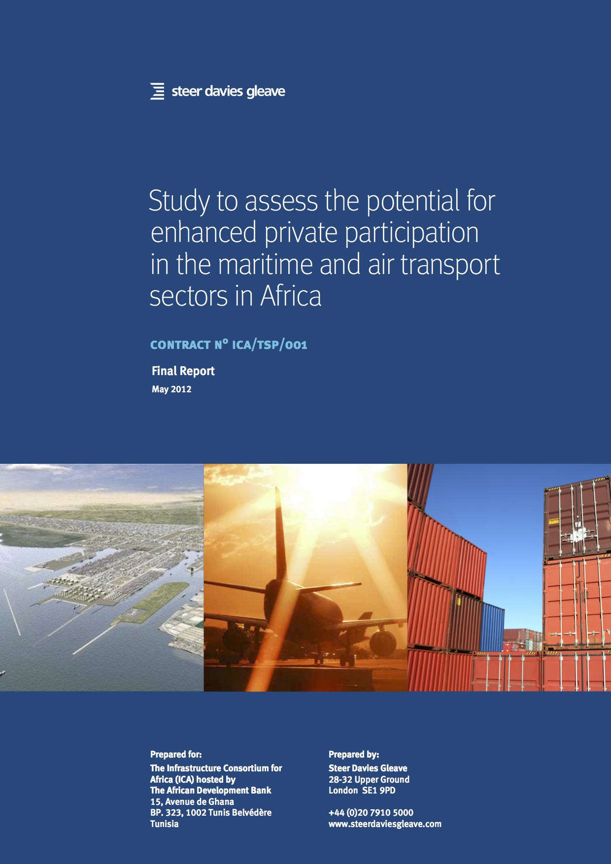 Study to assess the potential for enhanced private participation in the maritime and air transport sectors in Africa