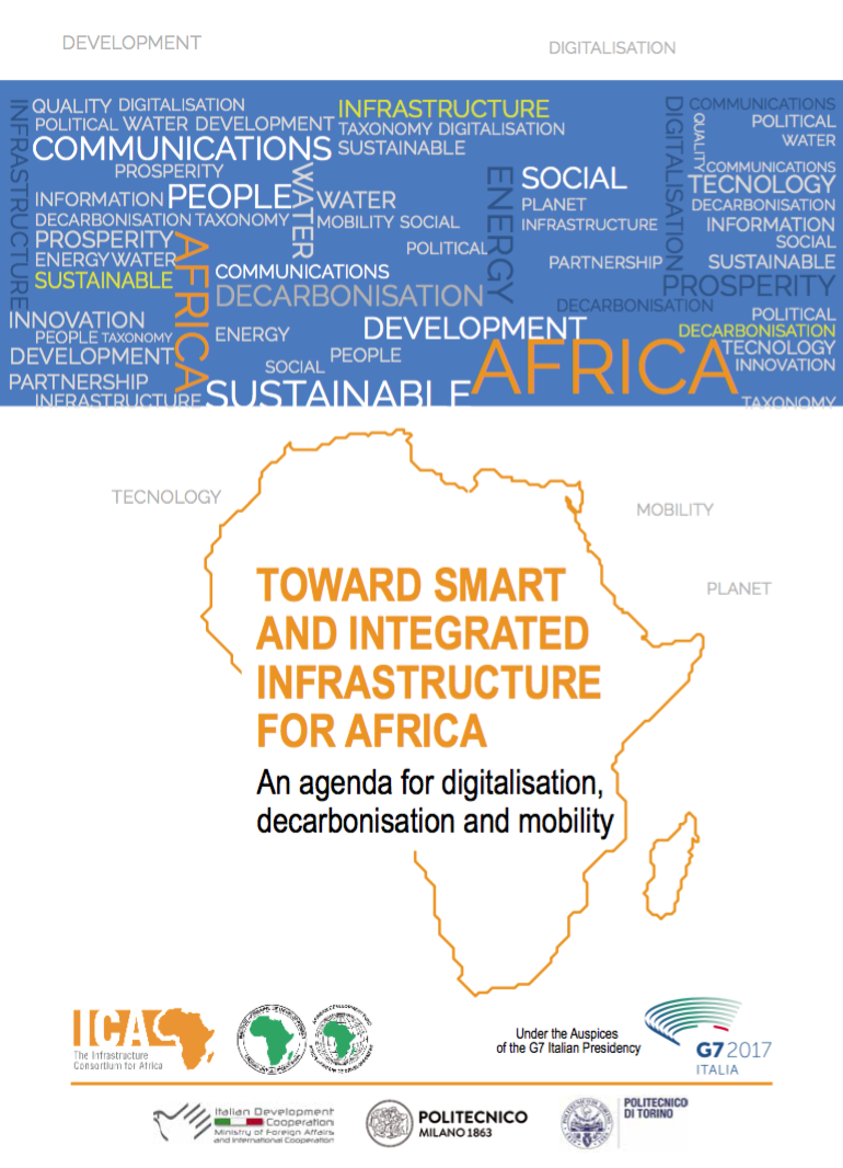 Toward Smart and Integrated Infrastructure For Africa