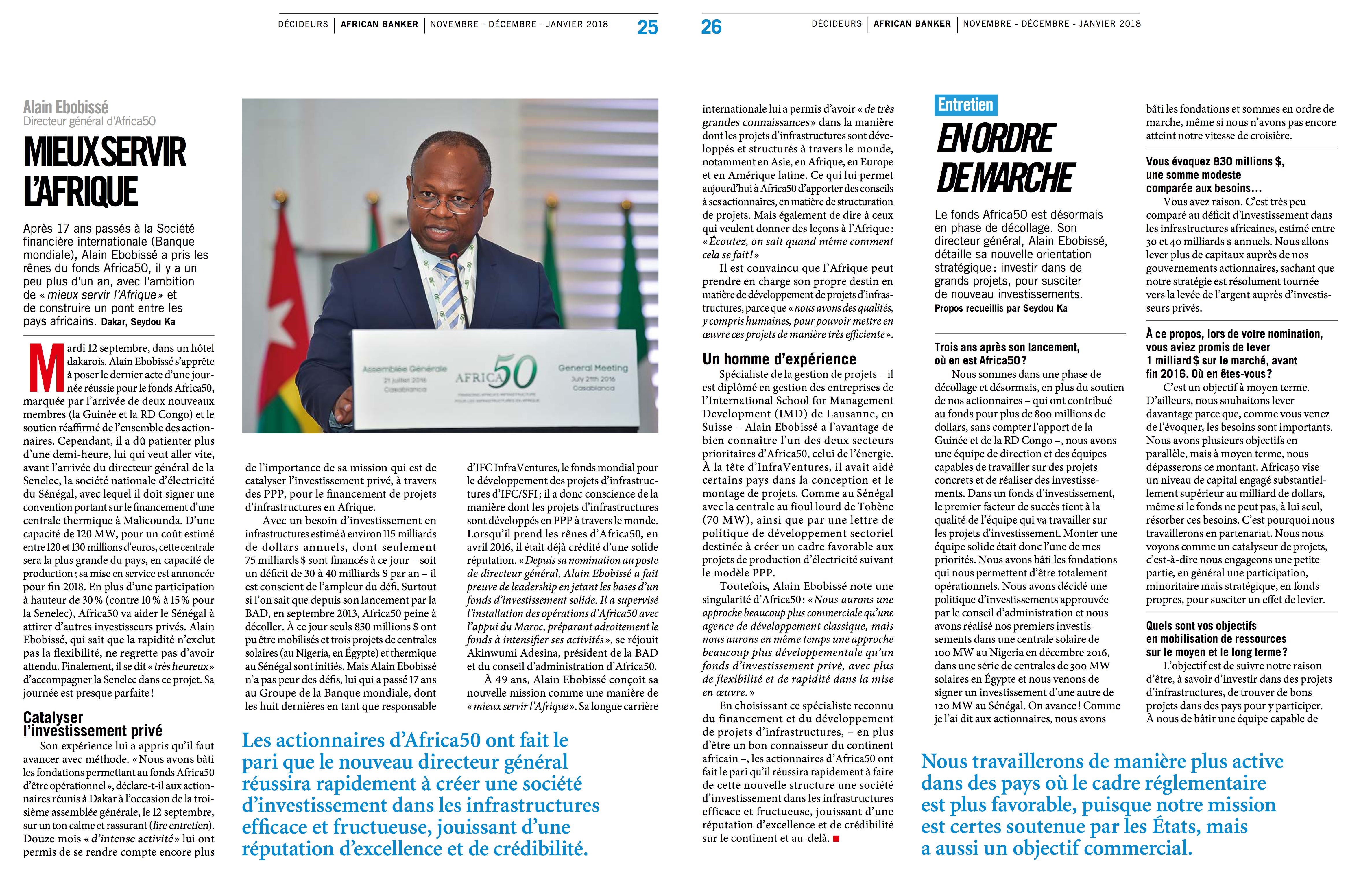 African Banker article