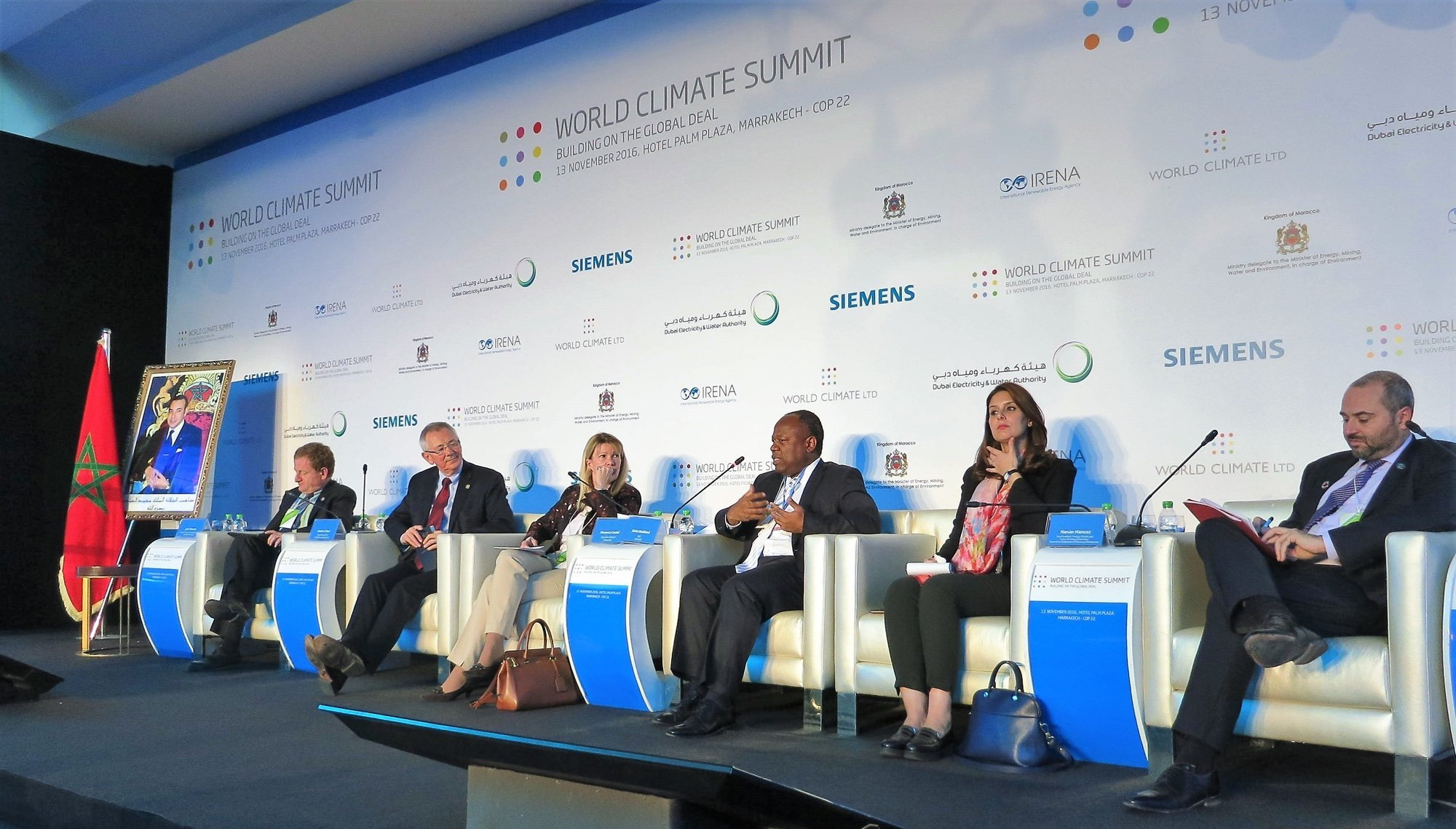 Africa50 CEO Speaks at World Climate Summit in Marrakech