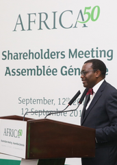 Speech delivered by Akinwumi A. Adesina, President of the African Development Bank Group, on the occasion of the Africa50 Annual Shareholders Meeting on September 12, 2017 in Dakar, Senegal